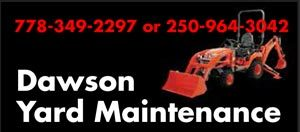 Dawson Yard Maintenance 778-349-2297