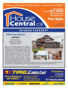 House Central brochure for July 2021
